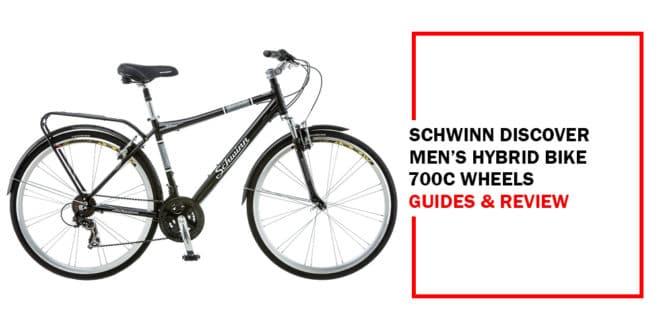 Schwinn Discover Men's Hybrid Bike 700c Wheels Review