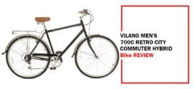 Vilano Men's Hybrid Bike 700c Retro City Commuter Review
