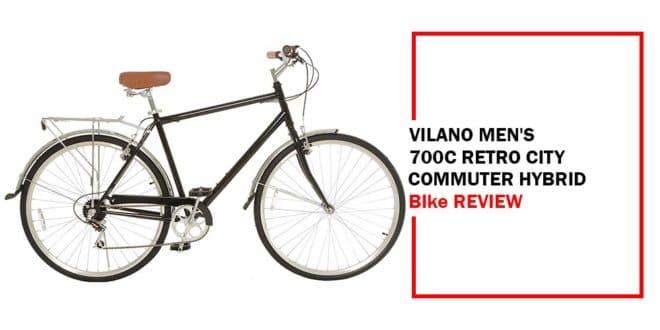 Vilano Men's Hybrid Bike 700c Retro City Commuter Review