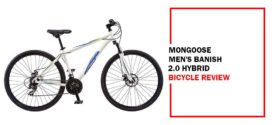 Mongoose Men's Banish 2.0 Hybrid Bike Review