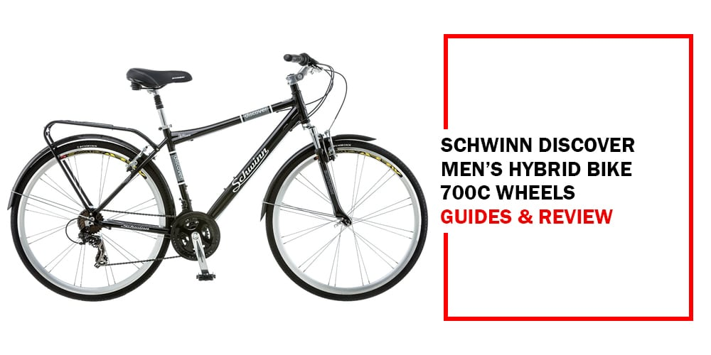 Schwinn Discover Men's Hybrid Bike 700c Wheels Picture