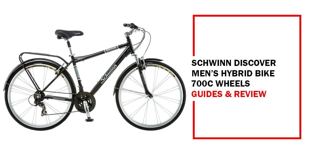 Schwinn Discover Men's Hybrid Bike 700c Wheels Picture