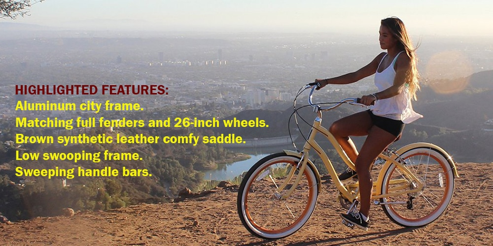 Sixthreezero EVRYjourney Women's 26-Inch Touring Hybrid Bicycle