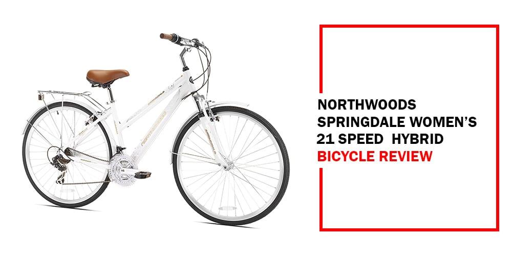 Northwoods Springdale Women's 21-Speed Hybrid Bicycle Review