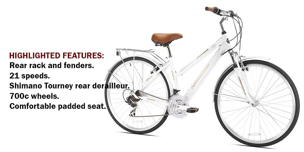 Northwoods Springdale Women's 21-Speed Hybrid Bicycle