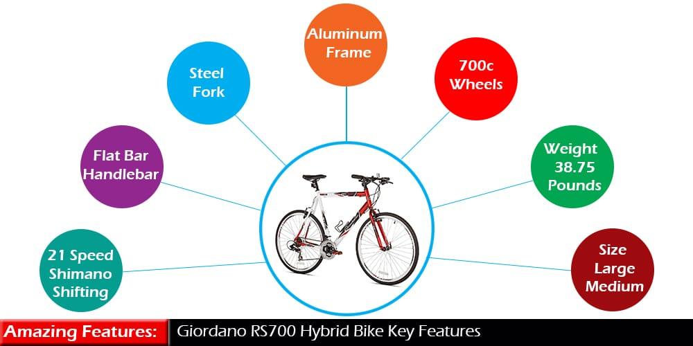 Giordano RS700 Hybrid Bike Review