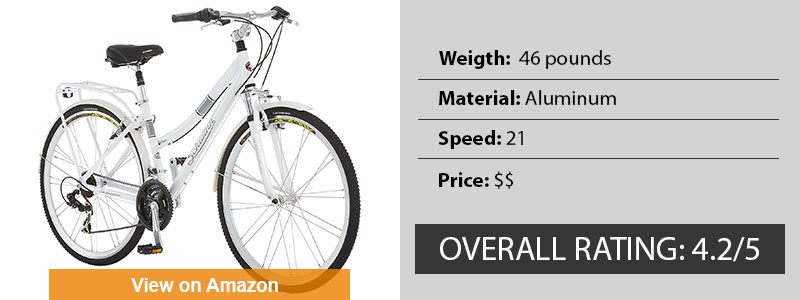 Schwinn Discover Women's Best Hybrid Bikes Under 300