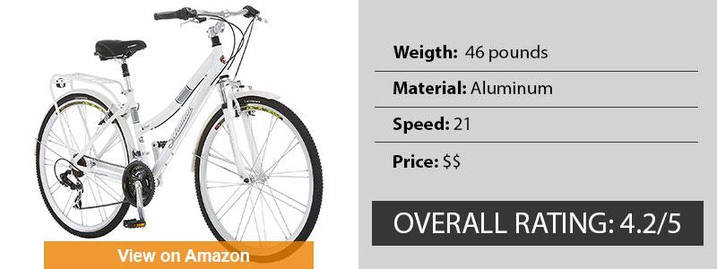 Schwinn Discover Women's Best Hybrid Bikes Under 300
