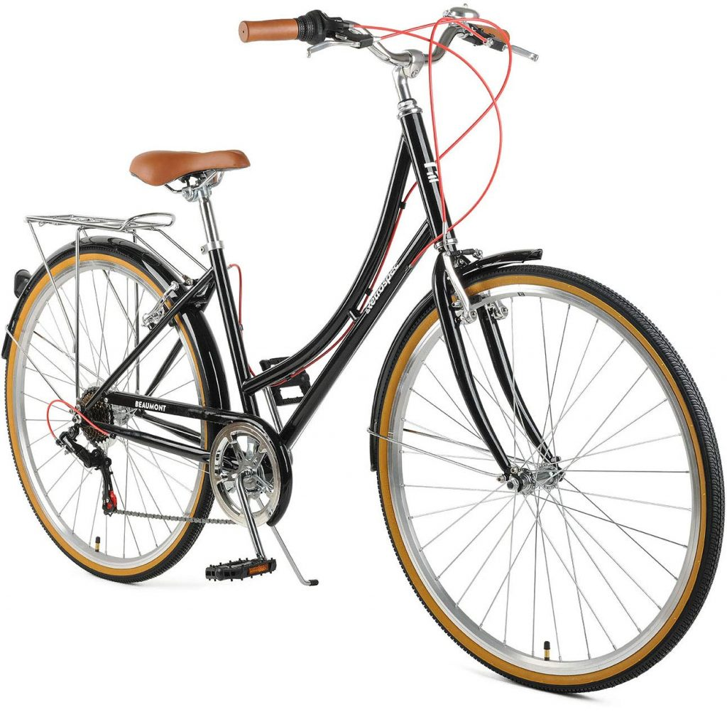 Retrospec Beaumont Seven Speed Lady Urban City commuter Bike review 2019