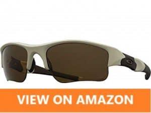 Oakley Men OO9009 Flak Jacket XLJ Rectangular Sunglasses