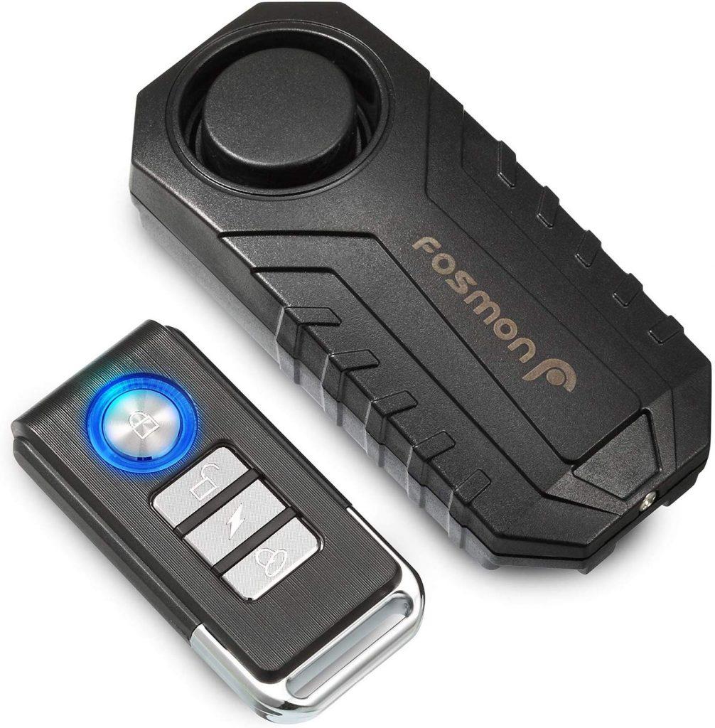 Fosmon Anti Theft Burglar Bike Alarm Remote