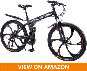 Max4out outroad r100 Mountain Folding bicycle