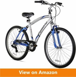 Northwoods Pomona Men Dual_Suspension Comfort Bike
