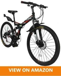Xspec 21 Speed best Folding Mountain Bike