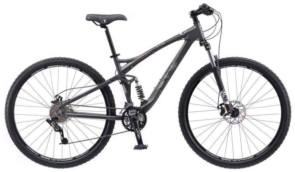 Mongoose XR PRO Mens Mountain Bike full suspension