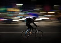 can you ride a bike at night without lights