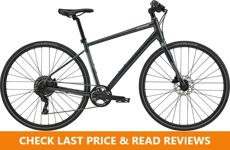 cannondale hybrid bike quick disc 4 review