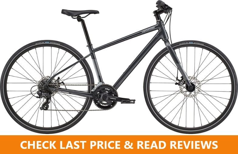 cannondale quick disc 5 women hybrid bike review