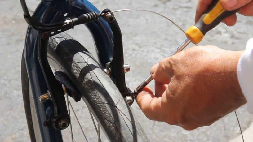 centering bicycle brake