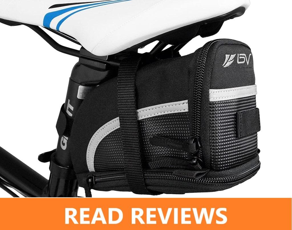 BV Bicycle Strap On Bike Saddle Bag