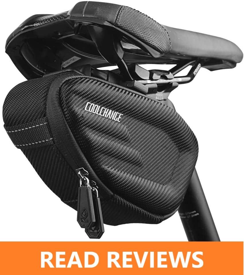 Cool Change Bike Saddle Bag Hard Shell