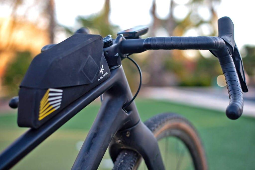 Apidura Top Tube bag waterproof bikepacking