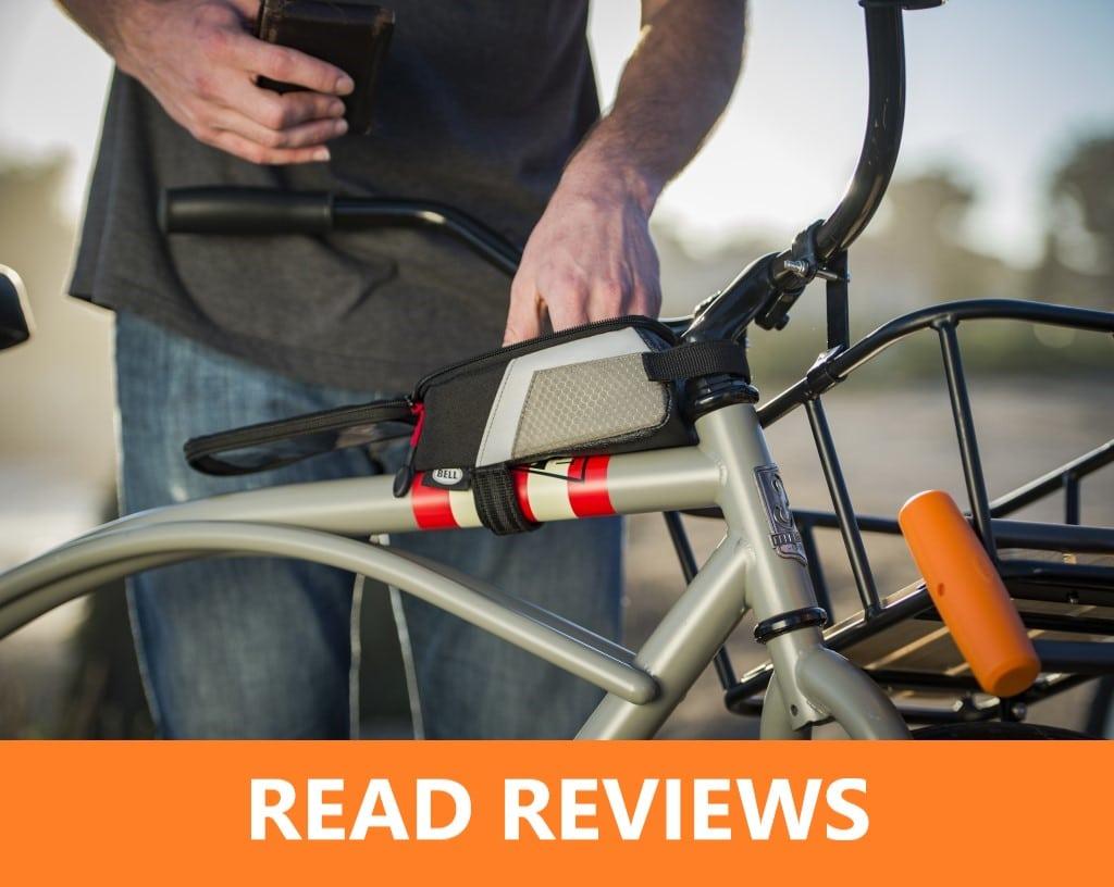 Bell Stowaway top tube bicycle bag