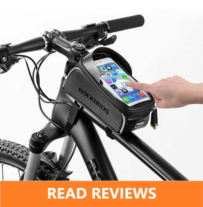 ROCKBROS Touch Screen Top Tube Frame Phone