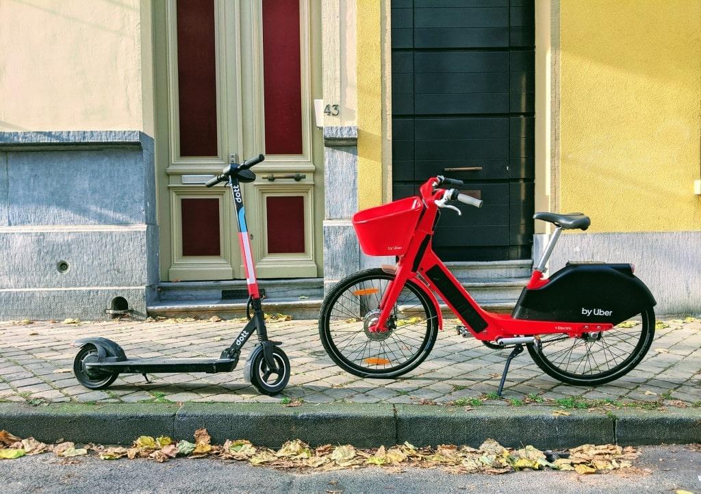 e-scooter vs e-bike for commuting