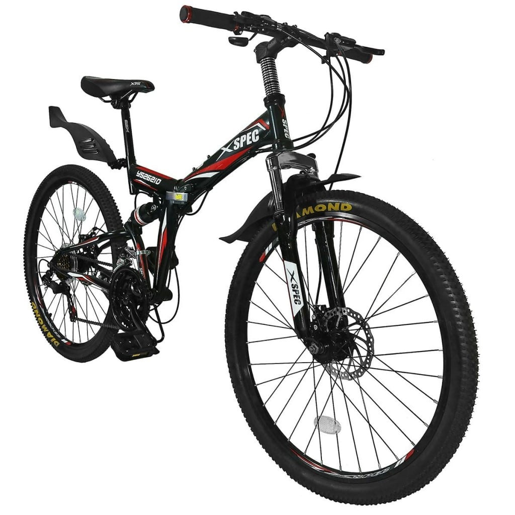 Xspec 26 21 Speed Shimano Folding Mountain Bike