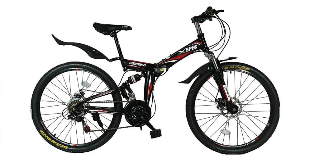 Xspec Folding Moutain Bike Review