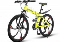 Max4out folding mountain bike review