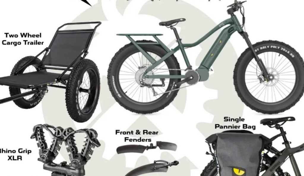 Best electric bike accessories for hunting