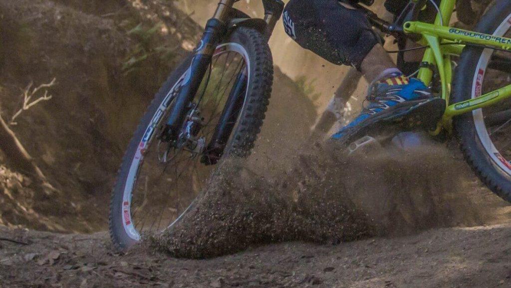 Too high hybrid bike tire pressure