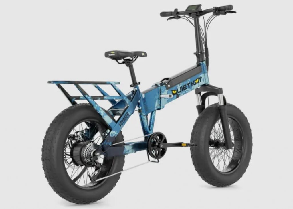 Quietkat Voyager Folding Electric Bike for hunting