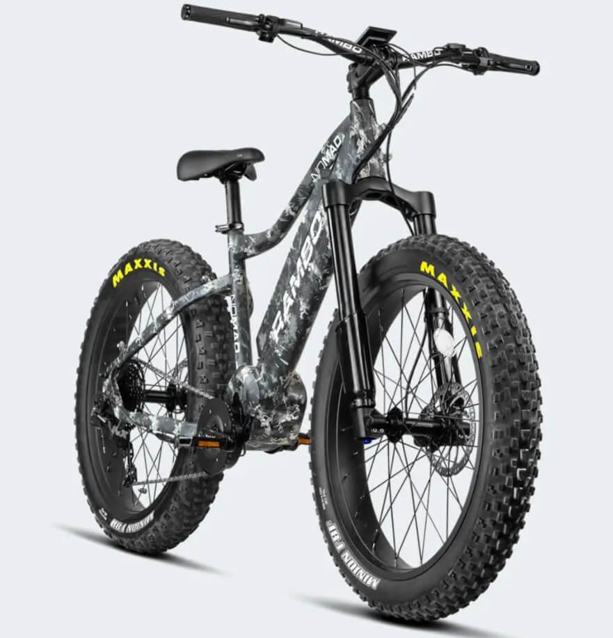 Rambo 750w Nomad Urban Electric Hunting Bike