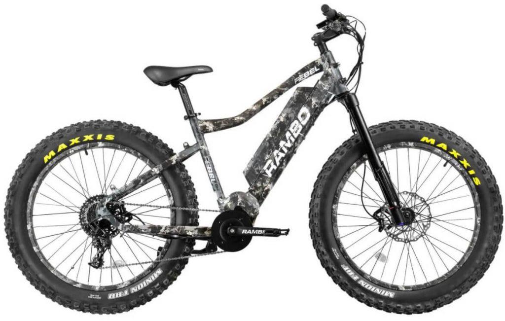 Rambo Rebel 1000w Electric Hunting Bike