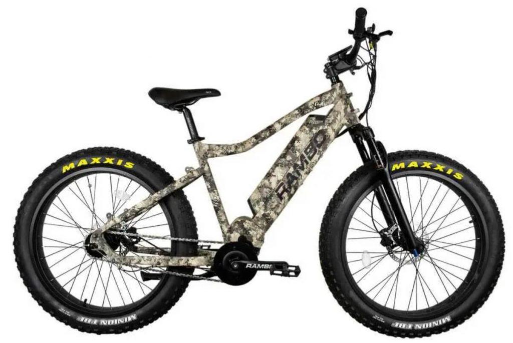 Rambo Truetimber electric bike for hunting