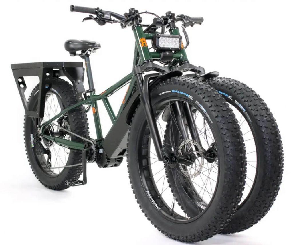 3 wheel electric bike for hunting Rungu Dualie steep