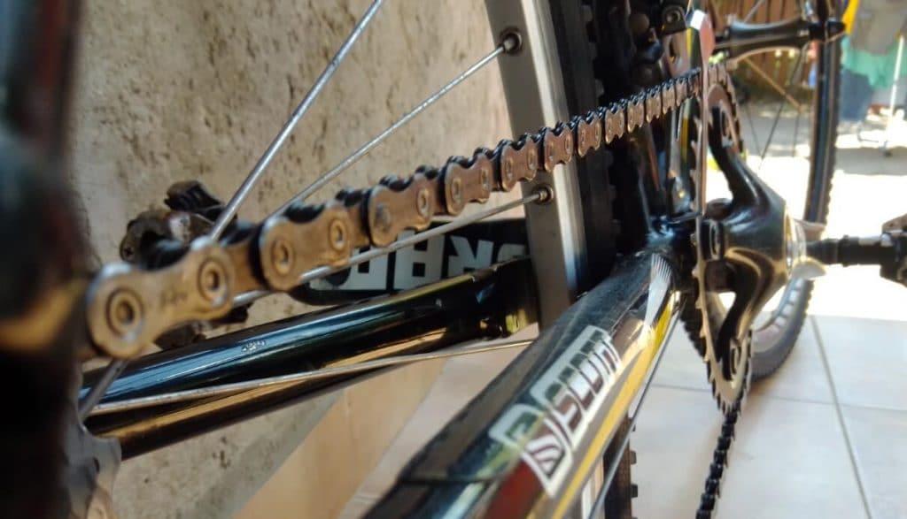 how to adjust bike chain steps