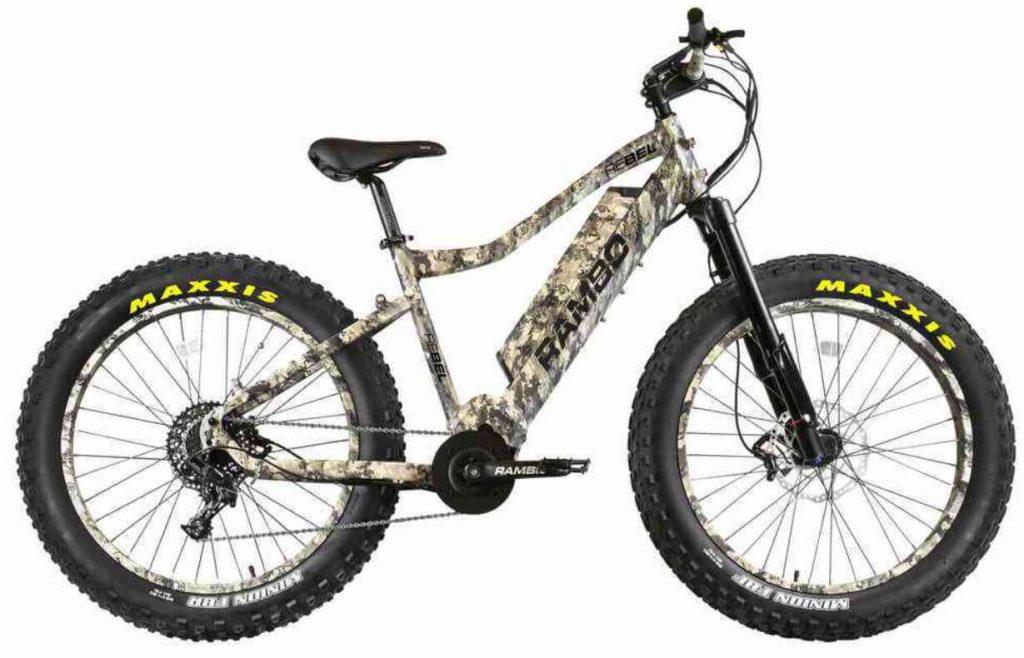 Rambo Rebel 1000W Truetimber XPC Electric Hunting Bike review