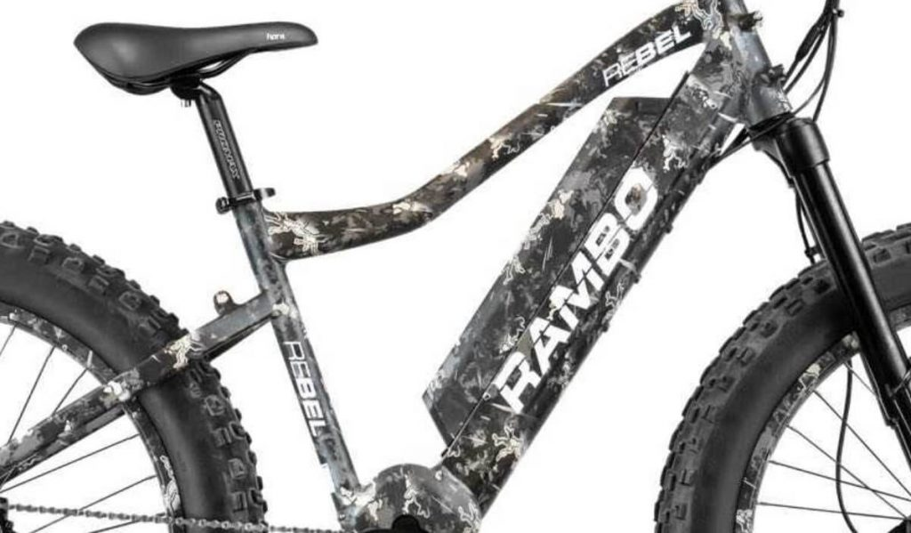 Rambo rebel electric bike frame
