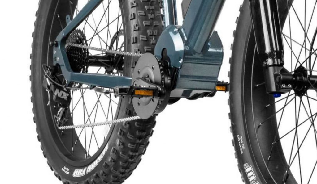 Rambo Nomad electric hunting bike