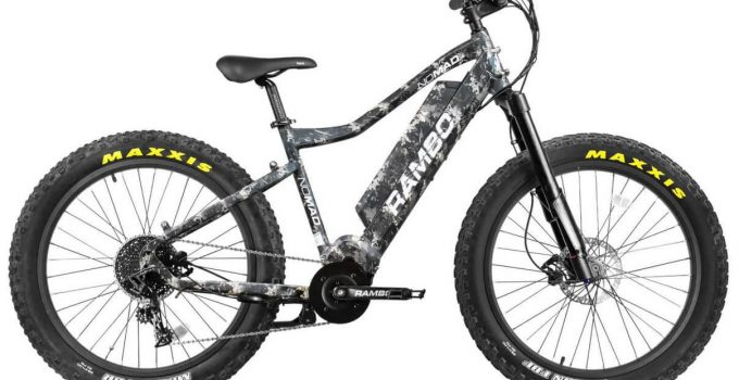 Rambo Nomad 750W XPC Electric Hunting Bike review